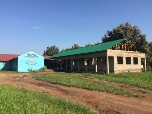 Despite the instability, construction of the new lab / pharmacy / HIV counseling room has slowly progressed at His House of Hope— pray that it would be completed and we would be able to fully utilize it in 2017